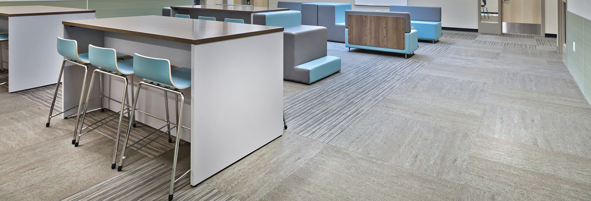 K 12 School Facilities Flooring Solutions Carpet Lvt