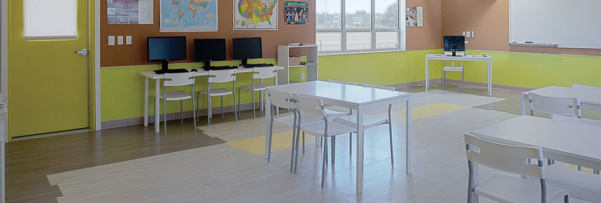 Sage Modular Classroom ~ Sage classroom j flooring group